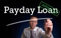 An image of a payday loan sign