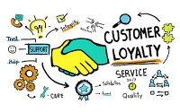 An image showing customer loyalty