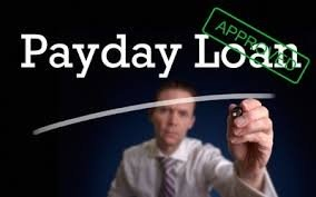 An image of payday loan approval