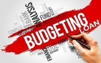 An Image of Keywords Relating to Budgeting
