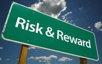 An image of a risk and reward sign