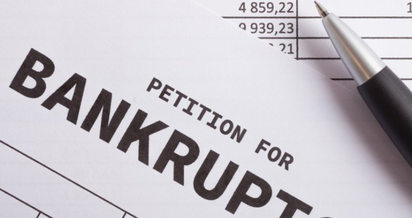 An Image of a Bankruptcy Petition
