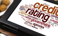 An image of a credit rating word cloud