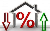 An Image Showing a House And An Interest Rate