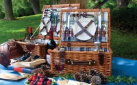 An Image of a Picnic Basket