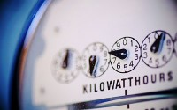 An image of an electricity meter