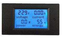 An image of a pre-pay energy meter