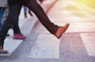 An_image_of_a_man_stepping_into_a_road