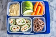 An image of a packed lunch