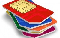 An image of a stack of SIM cards