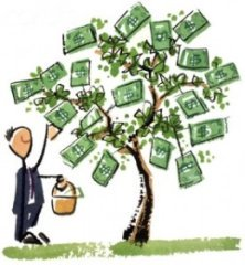picture of a money tree