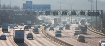 An image of a busy motorway