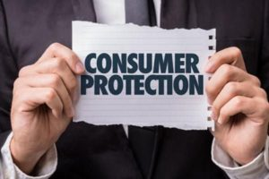 An image of a consumer protection sign