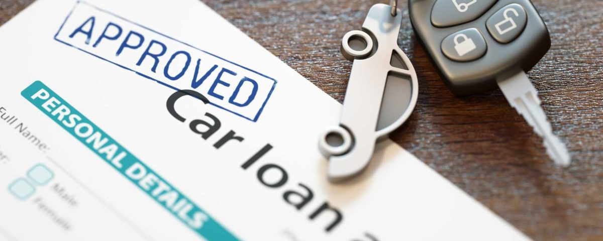 An image of a car loan application form