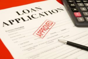 An image of a loan approval application
