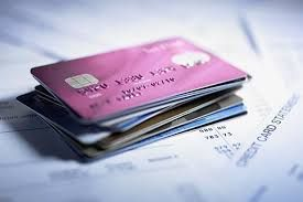 An image of a stack of credit cards