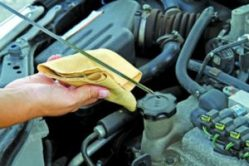 An image of a car oil check