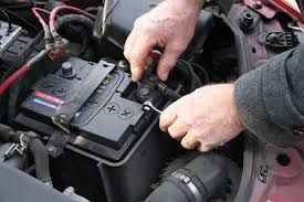 An image of a car battery