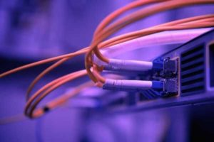 An image of broadband cables
