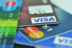An image of different credit cards