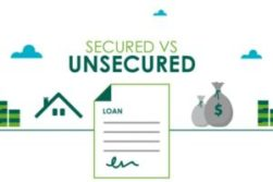 An image of secured vs unsecured loans