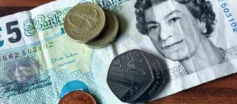 An image of UK currency