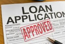 an image of a loan application